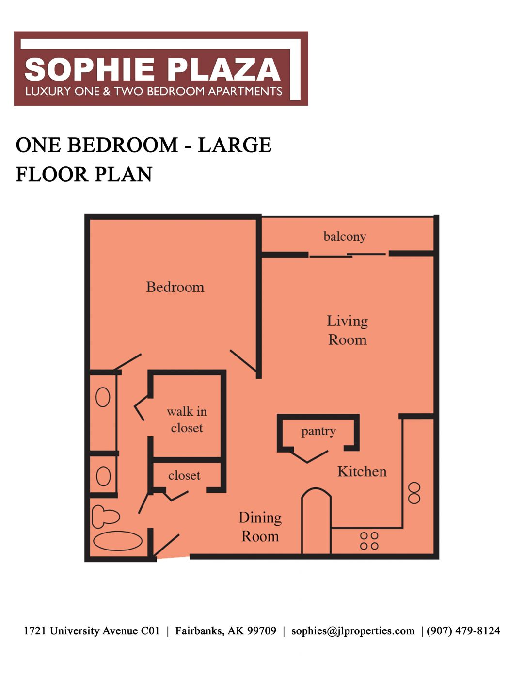 One Bedroom - Large