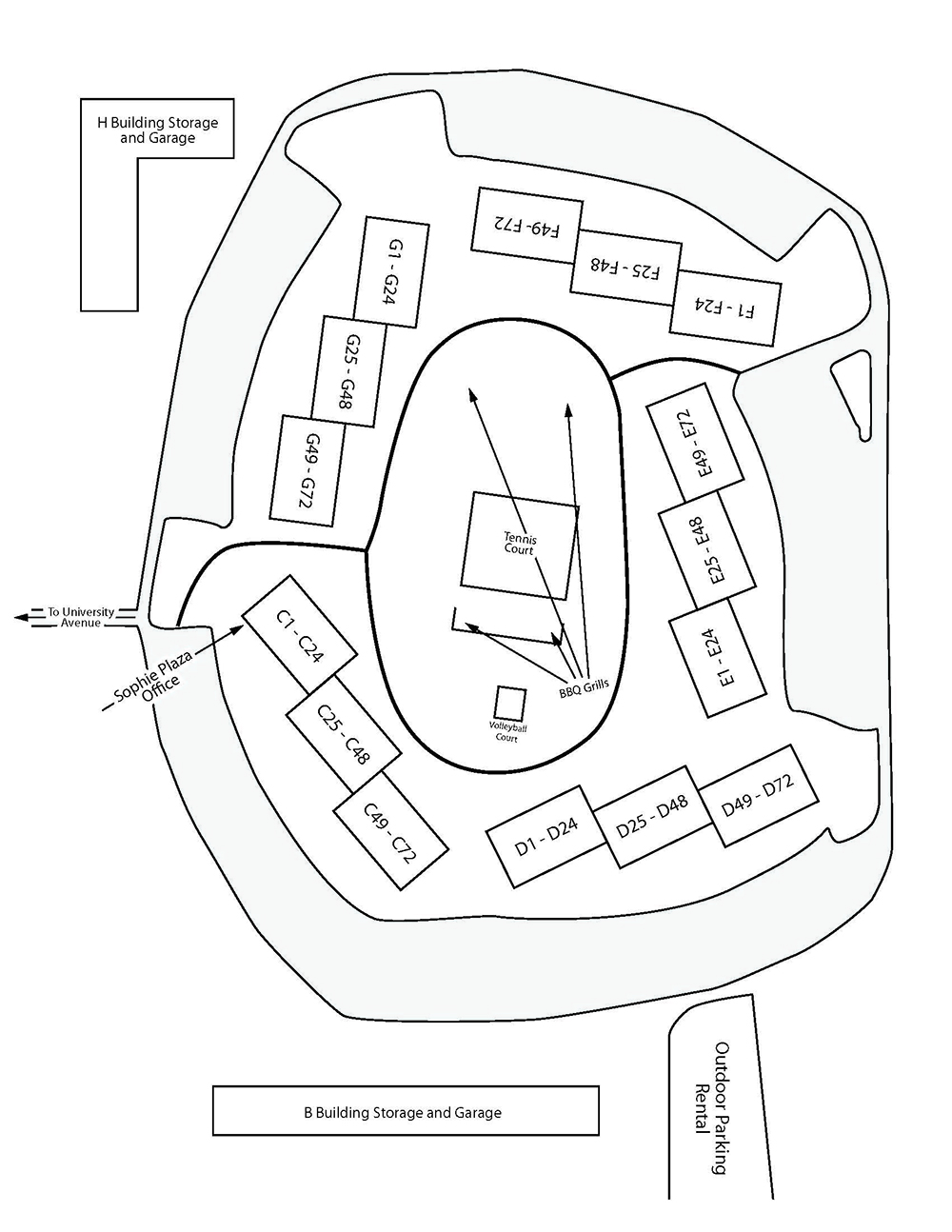 Sophie Plaza Property Map
