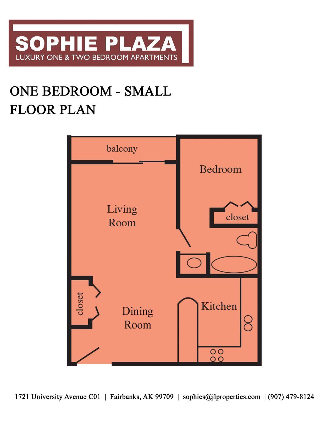 Fairbanks Alaska Apartments | Sophie Plaza | Maps and Floor ...